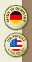 Made in Germany, US-Patent